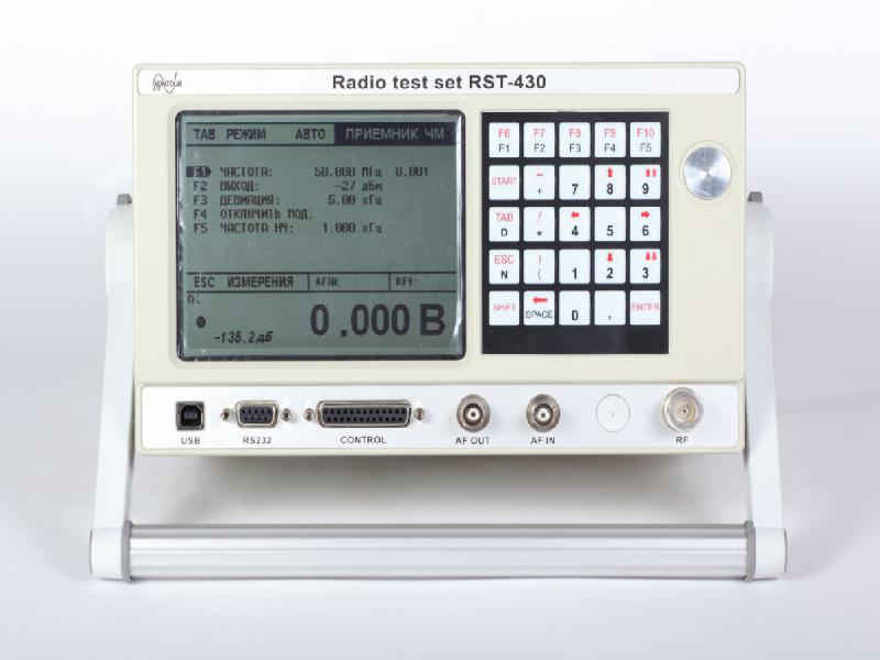 Universal radio test set RST-430