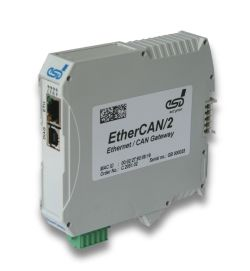 CAN-Ethernet Gateway (EtherCAN/2)
