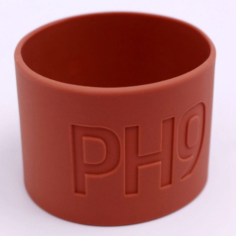 Heatproof Heat Insulative Custom Molded Grade Silicone Rubber Coffee Cup Sleeve