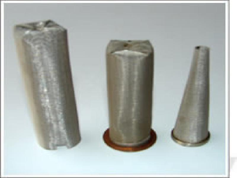Cone Shaped Filters,Filter Tube,stainless steel mesh filter tube